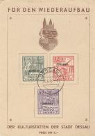 Dessau I/IIIA Auf Spendenkarte O - Sowjetische Zone (SBZ)