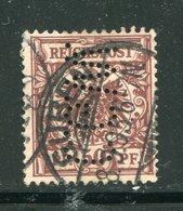 ALLEMAGNE EMPIRE- Y&T N°50- Oblitéré Et Perforé - Used Stamps