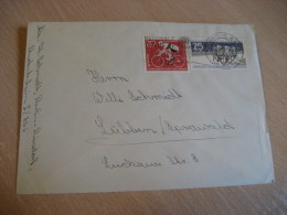 RAD WELTMEISTERSCHAFTEN UCI DRSV Cycling Bicycle BERLIN 1961 Cover GERMANY DDR - Radsport