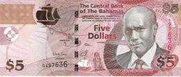 Bahamas - Pick 72b - 5 Dollars 2013 - Unc - Bahamas