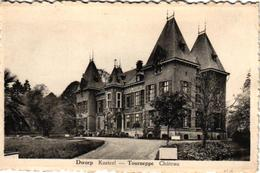 2 CPA  Dworp  Kasteel Landelijk Lusthuis Tourneppe  Villa  Borré - Halle