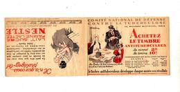 Carnet Timbre Anti-tuberculeux 1932 - Commemorative Labels