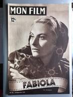 Mon Film Fabiola Michele Morgan Henri Vidal - Zeitungen