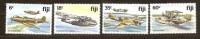 Fidji Fiji 1981 Yvertn° 449-452  *** MNH Cote 12,50 Euro Avions Vliegtuigen Airplanes - Fidji (1970-...)