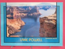 Etats Unis - Arizona - Lake Powell - Gunsight Butte - Scans Recto-verso - Lake Powell