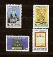 Saint Kitts St-Christophe 1985 Yvert N° 592-95 *** MNH Cote 13,50 Euro - St.Kitts-et-Nevis ( 1983-...)