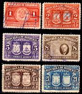 Honduras-0056 - Posta Aerea 1946: Valori Della Serie Y&T N 146-153 (o) Used - - Honduras