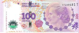 Argentina - Pick 358 - 100 Pesos 2012 - 2015 - Unc - Commemorative - Argentine