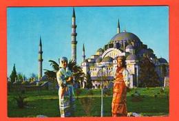 Istambul Saheserlerei Cp 1984 Case Strade Ponti Panorami Monumenti Houses Roads Bridges Panoramas Monuments - Turchia