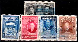 Honduras-0057 - Posta Aerea 1949: Valori Della Serie Y&T N 160-170 (o) Used - - Honduras