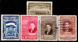 Honduras-0058 - Posta Aerea 1949: Valori Della Serie Y&T N 160-170 (o) Used - - Honduras