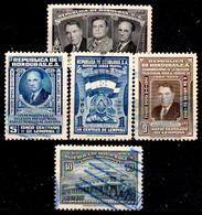 Honduras-0059 - Posta Aerea 1949: Valori Della Serie Y&T N 160-170 (o) Used - - Honduras