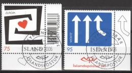 Island 1133/34 Eckrand O - 1944-... Republik