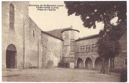 Cpa Environs De St Germain Laval - Pommiers - Place De L'église - France