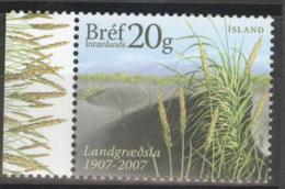 Island 1172 Seitenrand ** Postfrisch - 1944-... Republik