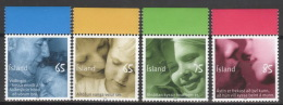 Island 1187/90 Oberrand ** Postfrisch - 1944-... Republik