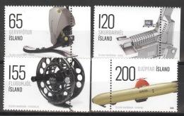 Island 1199/1202 Seitenrand ** Postfrisch - 1944-... Republik
