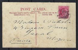 CPA Aden, ( Town ) Oblitéré Aden - Cartes Postales