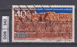 GERMANIA DDR   1970Scavi Archeologici 40 Pf Usato - Used Stamps
