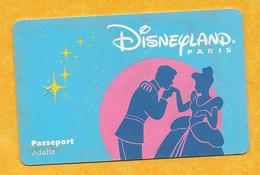 Carte Passeport Adulte - Disneyland Paris - Pasaportes Disney