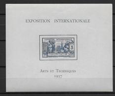 EXPO 1937 - MAURITANIE - BLOC YT N° 1 ** - SANS CHARNIERE - COTE = 14.3 EUR - 1937 Exposition Internationale De Paris