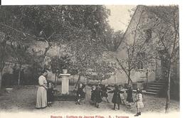 COLLEGE DE JEUNES FILLES. TERRASSE - Beaune