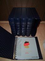 Post Deutschland Plus 5x Ringbinder + Kassette Wie Leuchtturm Excellent 13 Ringe - Albums & Reliures