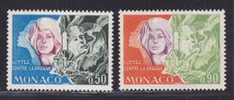 MONACO N°  931 & 932 ** MNH Neufs Sans Charnière, TB (D6665) Lutte Contre La Drogue - Nuevos