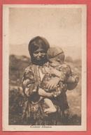 Albania Albanie Costumes Costumi Folklore Cp 1917 Timbro Censura - Albania