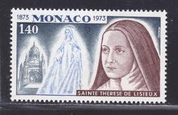 MONACO N°  930 ** MNH Neuf Sans Charnière, TB (D6666) Sainte Thérèse De Lisieux - Nuevos