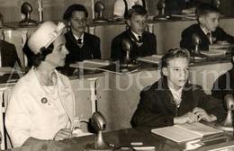 Postcard / ROYALTY / België / Belgique / Koningin Fabiola / Reine Fabiola / Sint-Agatha-Berchem / 1961 - Berchem-Ste-Agathe - St-Agatha-Berchem