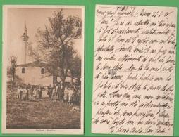 Albania Albanie Valona Moschea Cp 1919 - Albania