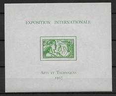 EXPO 1937 - OCEANIE - BLOC YT N° 1 ** - SANS CHARNIERE - COTE = 52 EUR - 1937 Exposition Internationale De Paris
