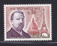 MONACO N°  921 ** MNH Neuf Sans Charnière, TB (D6668) Liaison Hertzienne, Eugène Ducretet - Monaco