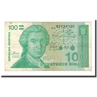 Billet, Croatie, 100 Dinara, 1991-10-08, KM:20a, TB - Croatie