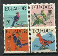 Ecuador. 1958.  Aves.tropicales. - Perroquets & Tropicaux