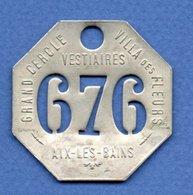 Aix Les Bains  --  Villa Des Fleurs --  Vestiaire --N 676 - France