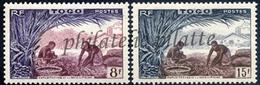 -Togo  256/57** - Unused Stamps