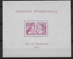 EXPO 1937 - WALLIS - BLOC YT N° 1 ** - SANS CHARNIERE - COTE = 39 EUR - 1937 Exposition Internationale De Paris