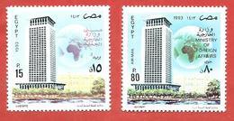 EGITTO EGYPT MNH - 1993 Egyptian Diplomacy Day - 15 + 80 Piastre - Michel EG 1763 1764 - Neufs