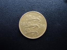 ESTONIE : 20 SENTI  1996   KM 23     TTB - Estonie
