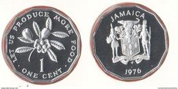 Giamaica One Cent 1976 FAO Jamaica - Giamaica