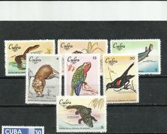 Cuba. 1969. Fauna De La Ciénaga De Zapata. - Reptiles & Anfibios