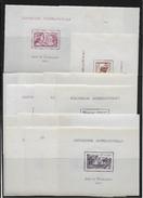 """1937 - SERIE COMPLETE 24 BLOCS """"EXPOSITION INTERNATIONALE 1937"""" LUXE MNH ** - COTE YVERT = 480 EUROS - 1937 Exposition Internationale De Paris"""