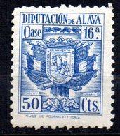 Fiscal De Diputacion Alava 50cts - Fiscales