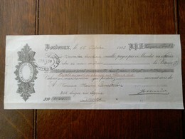 Stuks  Verzender  Jos . Weverbergh & Co  Opdracht  LARONDE  FRERES   Met Stoomboot MEUSE  1923 - Factures