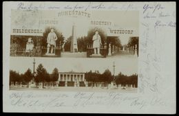 [034] Klein-Wetzdorf, Heldenberg, Frühe Fotokarte ~1900, Bez. Hollabrunn, Ohne Verlag - Hollabrunn