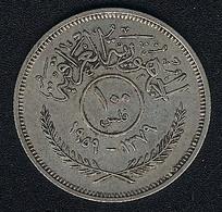 Irak, 100 Fils 1959, Silber - Iraq