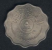 Irak, 5 Fils 1959, UNC! - Iraq