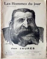 CARICATURES PORTRAITS POLITIQUE LITTERATURE SPECTACLE JEAN JAURES SOCIALISME L'HUMANITE 1907 - Journaux - Quotidiens